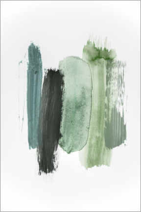 Canvas print  Colors of the forest - Studio Nahili