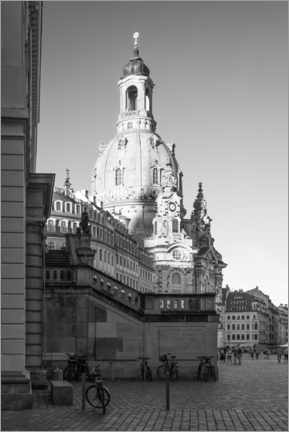 Canvas print  Frauenkirche Dresden - Jan Christopher Becke