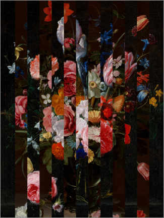 Premium poster  Shifted Flemish Bouquet I - Jacob Green