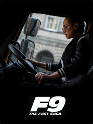 Premium poster  F9 - Ramsey at the wheel