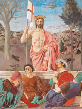 Canvas print  Resurrection of Christ - Piero della Francesca