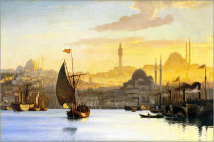 Canvas print  Constantinople - Carl Neumann
