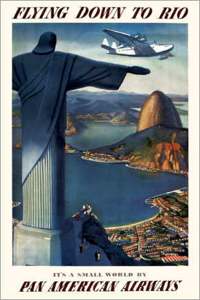 Canvas print  Flying down to Rio - Travel Collection