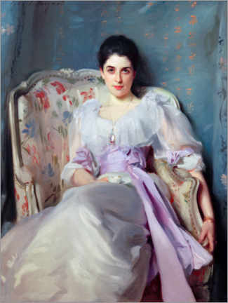 Canvas print  Lady Agnew of Lochnaw - John Singer Sargent