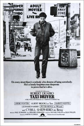 Acrylic print  Taxi Driver