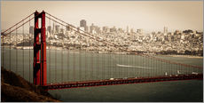 Gallery print  San Francisco Panorama - Jan Schuler