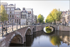 Wall sticker  Amsterdam canals - George Pachantouris