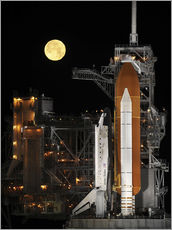Gallery print  Space shuttle Discovery