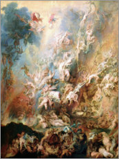 Premium poster  The Fall of the Damned - Peter Paul Rubens