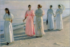 Wall sticker  Ladies on the beach - Michael Peter Ancher