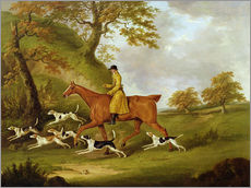 Wall sticker  Huntsman and Hounds - John Nott Sartorius