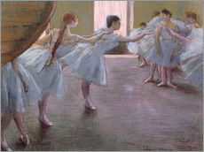 Gallery print  Dancers at Rehearsal - Edgar Degas