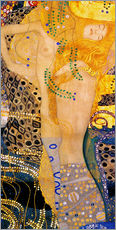 Wall sticker  Water serpents I - Gustav Klimt