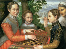 Wall sticker  Game of Chess - Sofonisba Anguissola