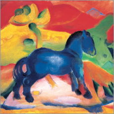 Canvas print  Little blue horse - Franz Marc