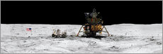 Wall sticker  Apollo 16 lands in the lunar highlands