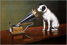 Gallery print  His master's voice ad - François Barraud