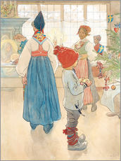 Gallery print  Before Christmas - Carl Larsson