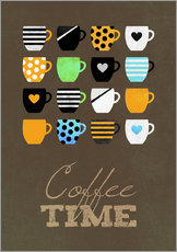 Wall sticker  Coffee Time - Elisabeth Fredriksson
