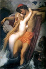 Gallery print  The Fisherman and the Syren - Frederic Leighton