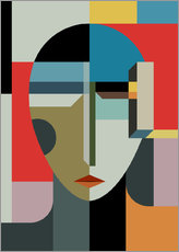Gallery print  Portrait of a woman - THE USUAL DESIGNERS