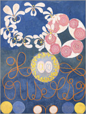 Acrylic print  The Ten Largest, No. 1, Childhood - Hilma af Klint