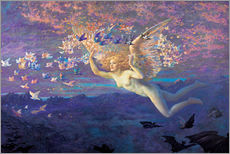 Wall sticker  Wings of the Morning - Edward Robert Hughes