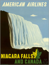 Wall sticker  American Airlines Niagara Falls and Canada - Travel Collection