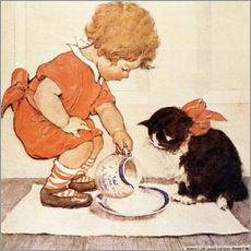 Gallery print  A Little Childs Book of Stories 2 - Jessie Willcox Smith