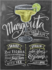 Gallery print  Margarita recipe - Lily & Val
