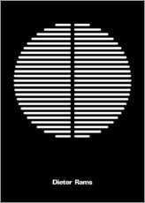 Wall sticker  Dieter Rams - THE USUAL DESIGNERS