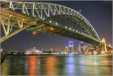 Gallery print  Sydney Harbour Bridge I - Thomas Hagenau