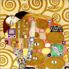 Gallery print  The hug - Gustav Klimt