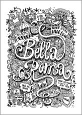 Wall sticker  Bella Roma - Sammy Joisten