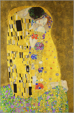 Gallery print  The Kiss (portrait) - Gustav Klimt