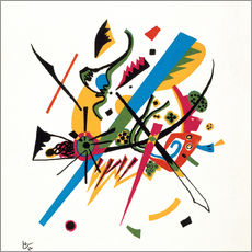 Wall sticker  Small worlds - Wassily Kandinsky