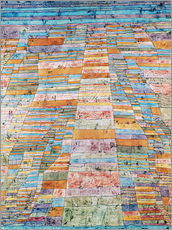 Wall sticker  Main path and byways - Paul Klee