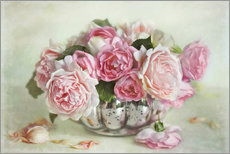 Gallery print  Roses bouquet - Lizzy Pe
