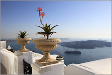 Wall sticker  Balcony in Greece - Hans-Peter Merten