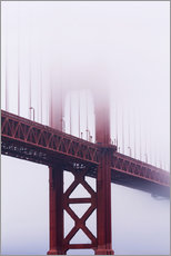 Gallery print  Golden Gate Bridge in the fog - Jean Brooks