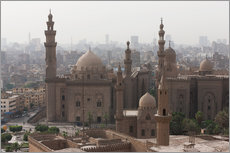Wall sticker  Mosque of Sultan Hassan in Cairo old town, Cairo, Egypt, North Africa, Africa - Martin Child