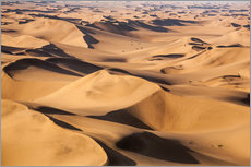 Wall sticker  Aerial view of the dunes of the Namib Desert, Namibia, Africa - Roberto Moiola