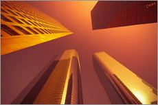 Gallery print  Downtown, Los Angeles, California, United States of America, North America - Alan Copson