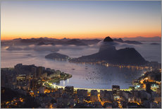 Gallery print  Sugarloaf Mountain and Botafogo Bay - Ian Trower