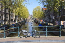 Gallery print  Amsterdam waterway - Amanda Hall