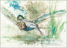 Gallery print  Dragonfly - Gustave Moreau