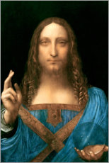 Wall sticker  Salvator Mundi - Leonardo da Vinci