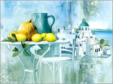 Wall sticker  Watercolors from the south - Franz Heigl