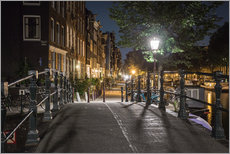 Wall sticker  One night in Amsterdam - Scott McQuaide