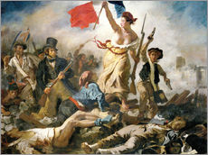 Wall sticker  Liberty leading the people - Eugene Delacroix
